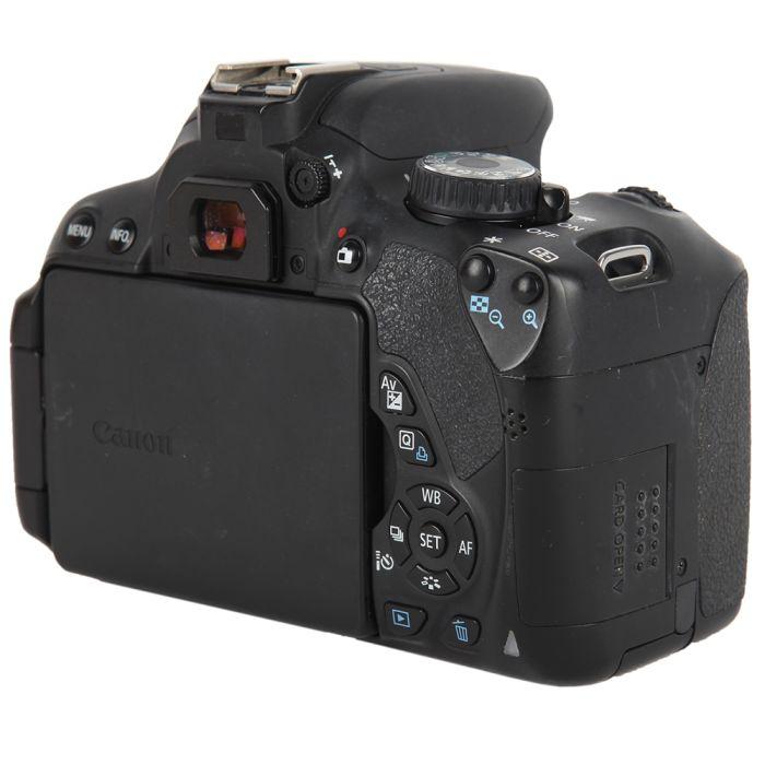 Canon EOS 650D (European Rebel T4I) DSLR Camera Body, Black {18MP}