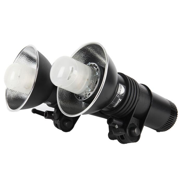 Profoto ComPact 600Ws Monolight 2-Light Kit with Zoom Reflectors (100610), Tenba Air Case