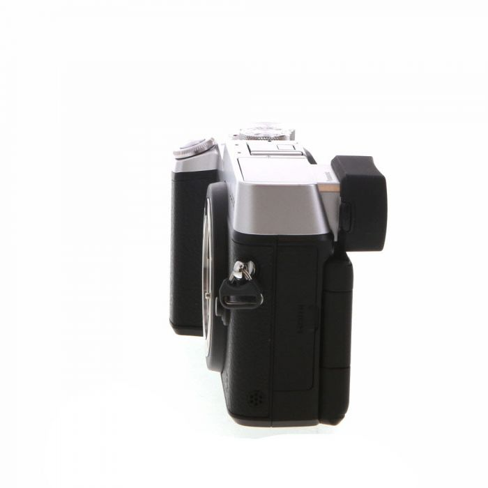 Panasonic Lumix DMC-GX8 Mirrorless Micro Four Thirds Digital Camera Body, Silver {20.3 M/P}