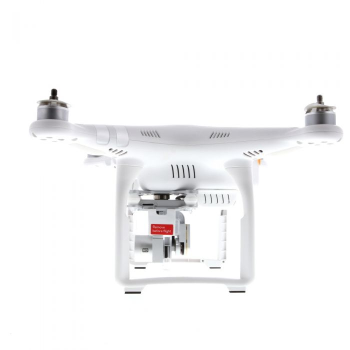 DJI Phantom-3Advanced Quadcopter (White) Drone with 3-Axis Gimbal Stabilized 2.7K24/12MP Imaging (Requires MicroSD Card)