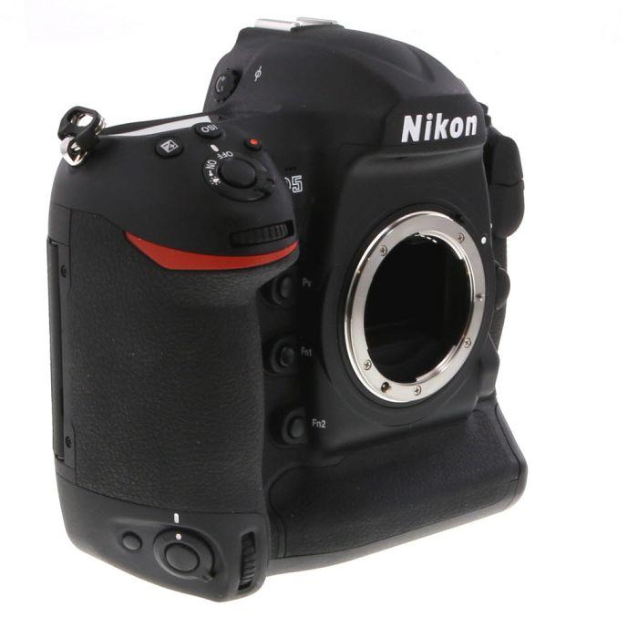 Nikon D5 DSLR Camera Body, Dual CF Slots Version {20.8MP}