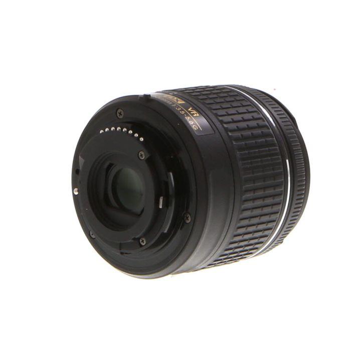 Nikon AF-P DX Nikkor 18-55mm f/3.5-5.6 G VR Autofocus Lens for APS-C Sensor DSLR, Black {55}