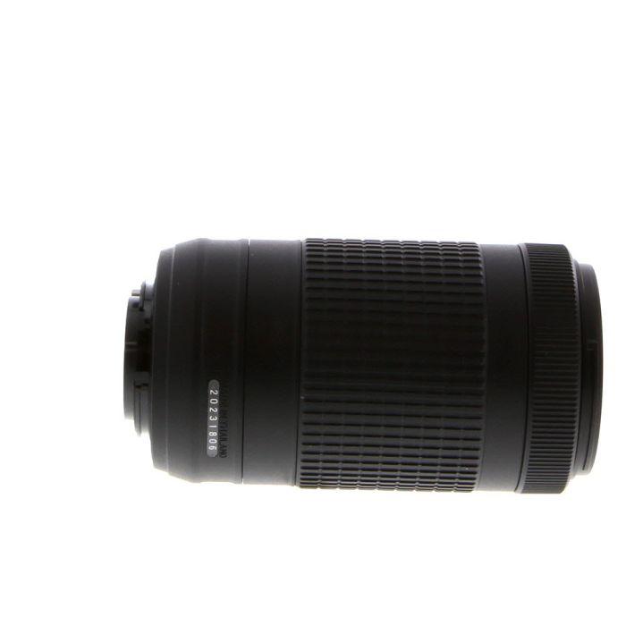 Nikon AF-P DX Nikkor 70-300mm f/4.5-6.3 G ED VR Autofocus Lens for APS-C Sensor DSLR, Black {58}