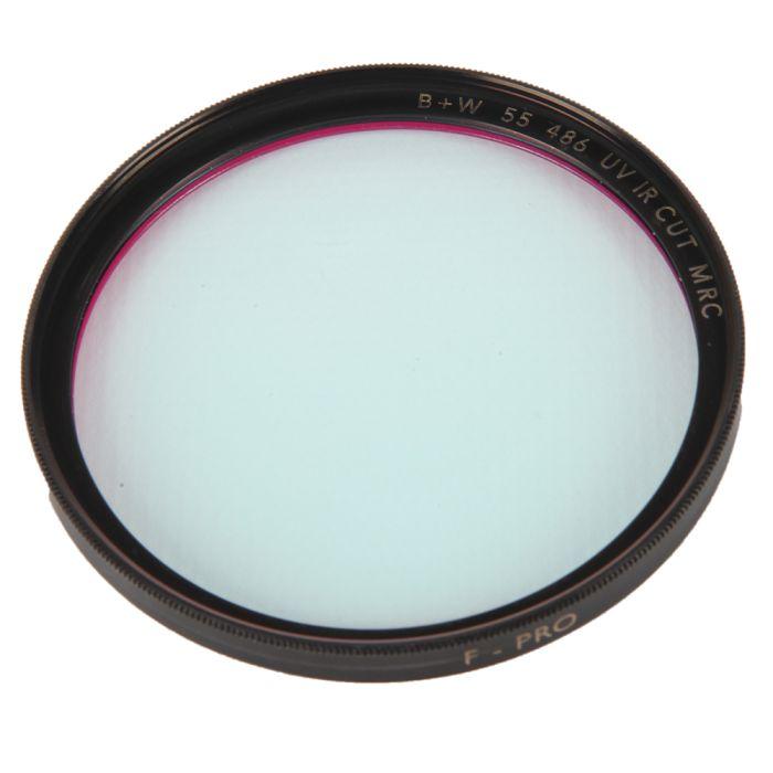 B+W 55mm UV IR Cut 486 MRC F-Pro Filter
