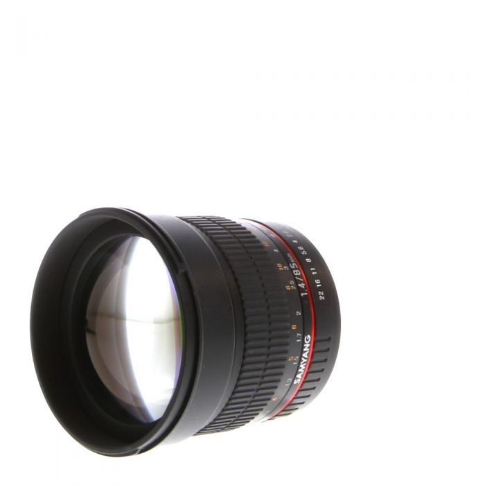 Samyang 85mm f/1.4 AS IF UMC Aspherical Manual Lens for Canon EF-Mount (72)