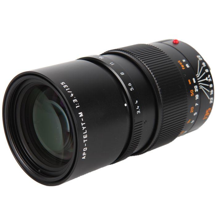 Leica 135mm f/3.4 APO-Telyt-M M-Mount Lens, Black, 6-Bit {49} 11889