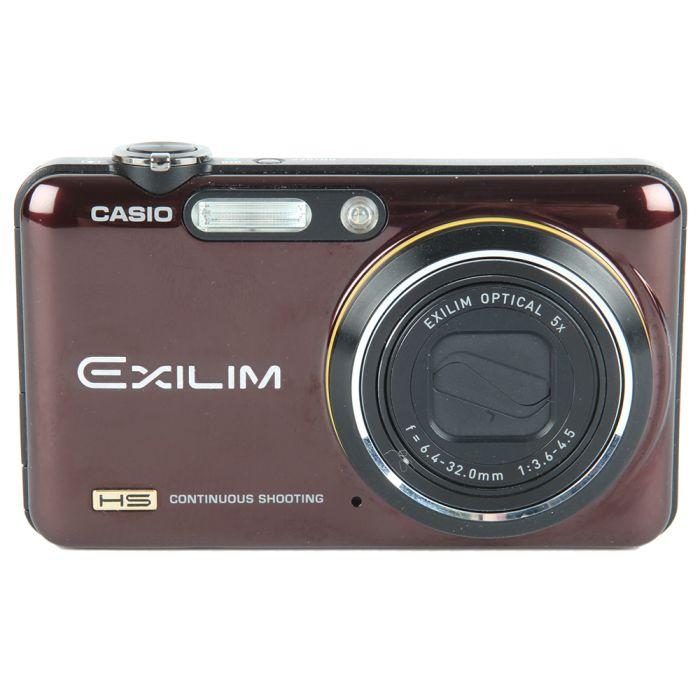 Casio Exilim EX-FC150 Red Digital Camera {10.1MP}