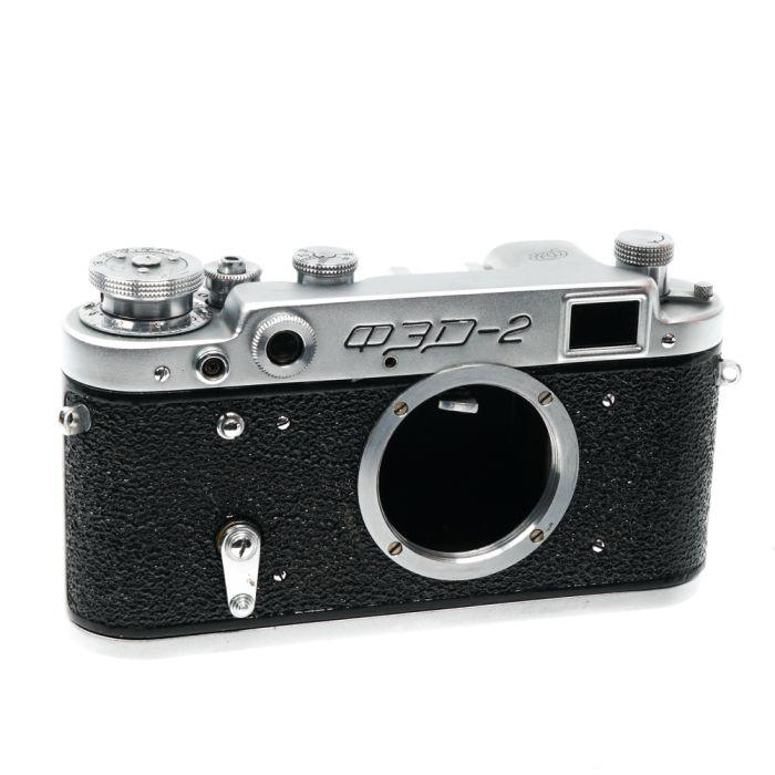 FED 2D 35mm Rangefinder Camera Body (with Sync)