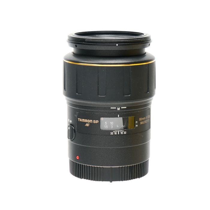 Tamron SP 90mm f/2.8 Macro 1:1 Lens for Canon EF-Mount {55} 172E