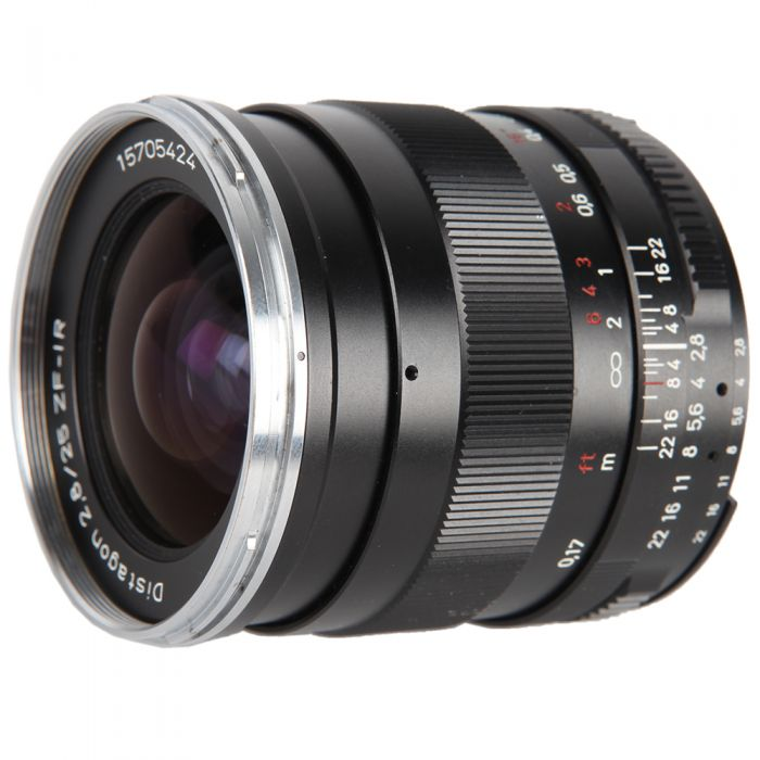 Zeiss 25mm f/2.8 Distagon ZF-IR (Infrared) T* AIS Manual Focus Lens for Nikon F-Mount {58}