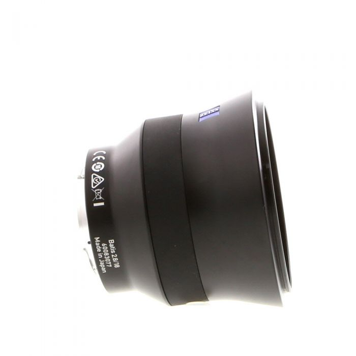 Zeiss Batis 18mm f/2.8 Distagon T* Autofocus Lens for Sony E Mount {77}