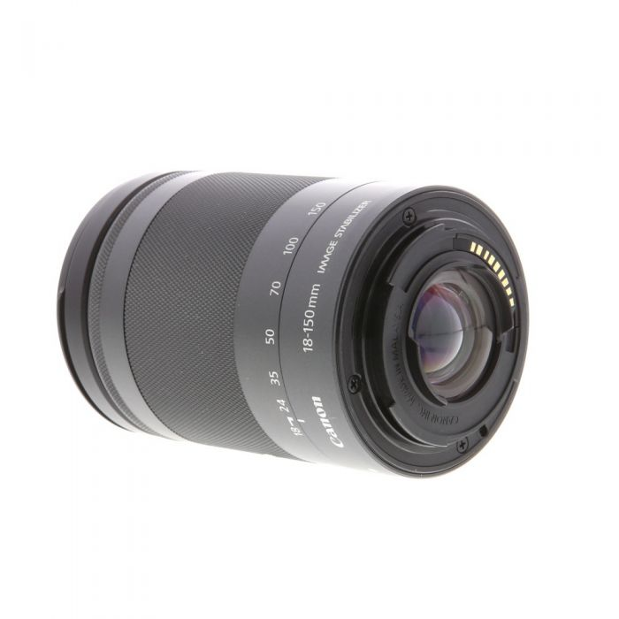 Canon 18-150mm f/3.5-6.3 IS STM EF-M Mount Lens For Canon Mirrorless Digital, Graphite Black{55}