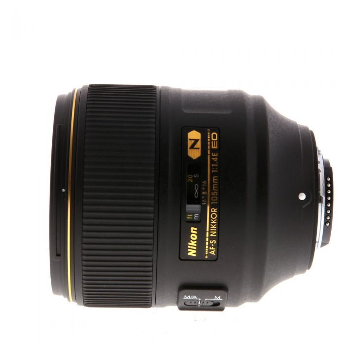 Nikon AF-S Nikkor 105mm f/1.4 E ED Autofocus IF Lens {82}