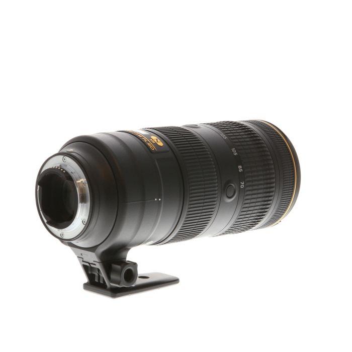 Nikon AF-S Nikkor 70-200mm f/2.8 E FL ED VR AF Lens {77} with Tripod Foot
