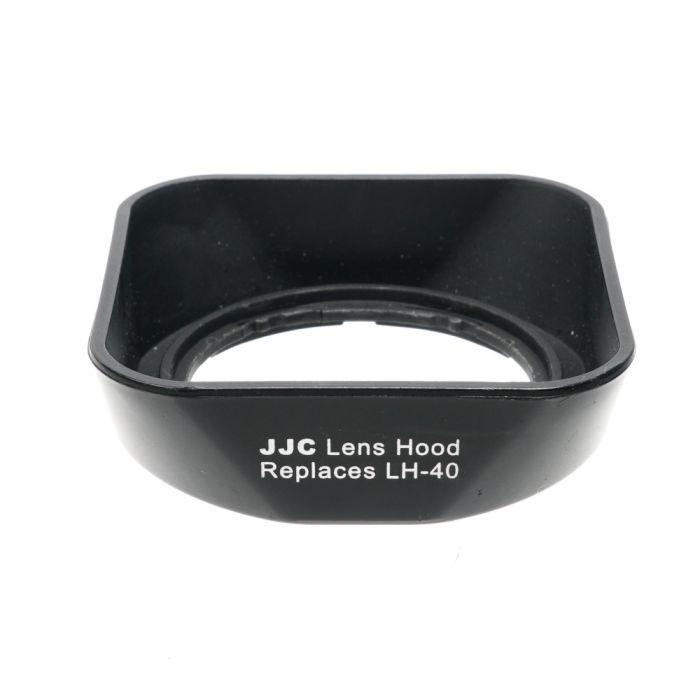 JJC Brand LH-J40 Lens Hood, Black, for 14-42mm f/3.5-5.6 Micro Four Thirds