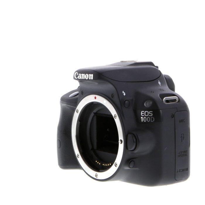 Canon EOS 100D (European Rebel SL1) DSLR Camera Body, Black {18MP}