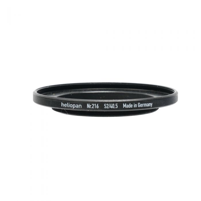 Heliopan 40.5-52mm Step-Up Ring Filter Adapter