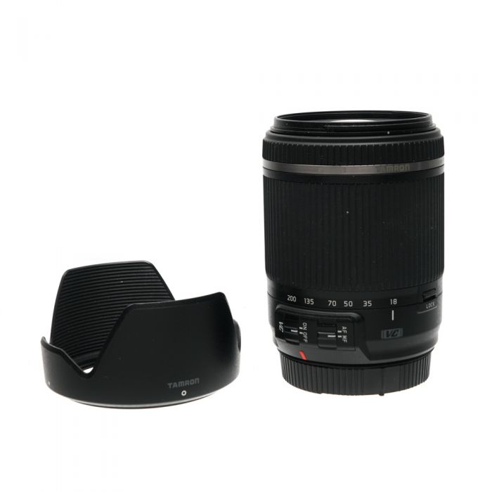 Tamron 18-200mm f/3.5-6.3 DI II VC IF EF-Mount Lens for Canon APS-C DSLR {62} B018