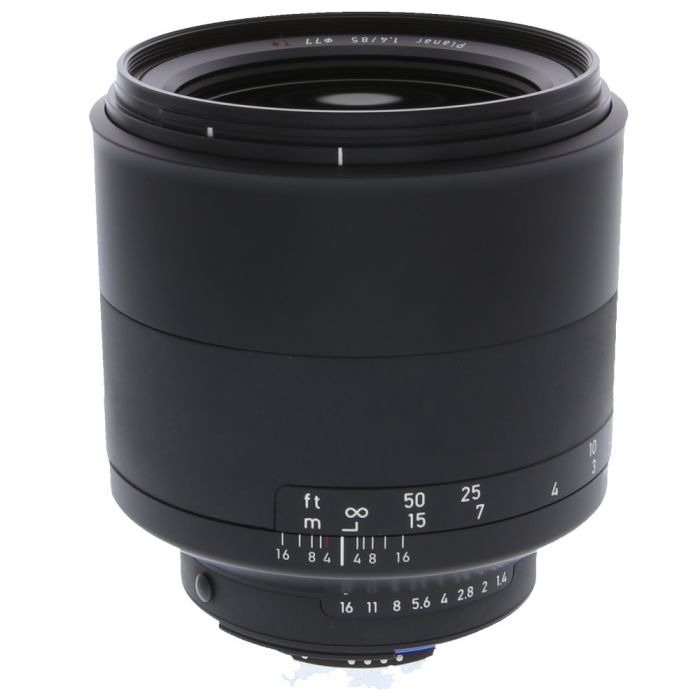 Zeiss Milvus 85mm F/1.4 Planar ZF.2 T* Manual Focus Lens (With CPU Contacts) for Nikon F Mount {77} with De-Click Tool