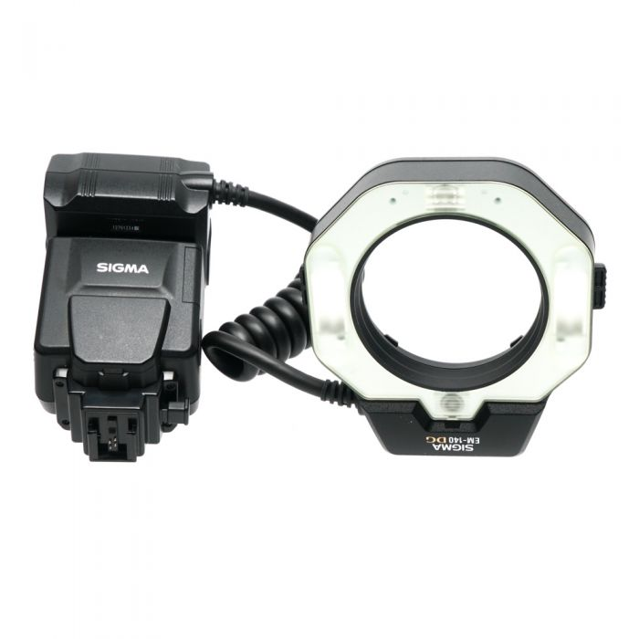 Sigma EM-140 DG ADI TTL Ring Flash For Sony Alpha SLR Digital [GN46]