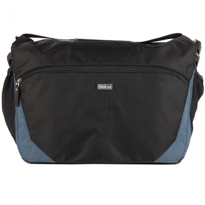 Think Tank City Walker 30 Messenger Bag, Blue Slate, 16.3x11.4x8.3