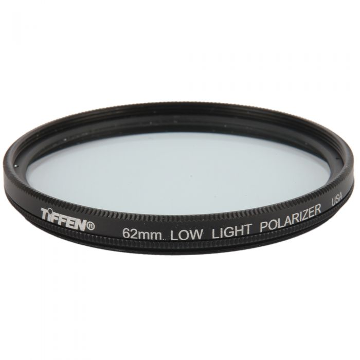 Tiffen 62mm Low Light (Linear) Polarizing Filter