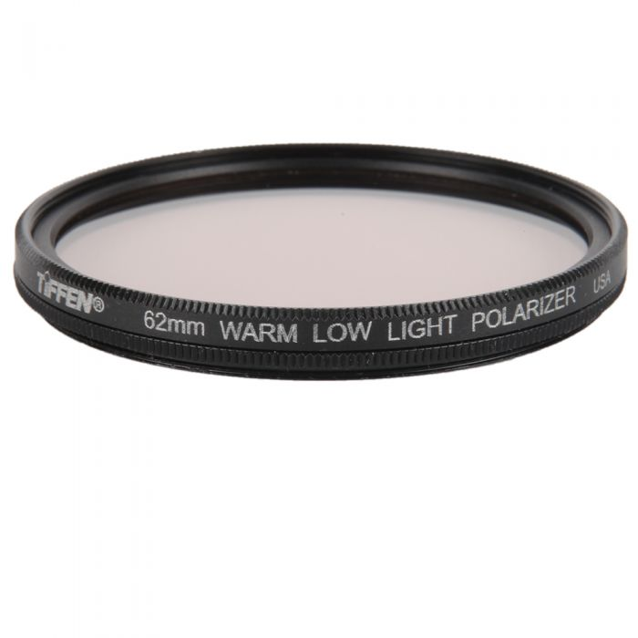 Tiffen 62mm Warm Low Light (Linear) Polarizing Filter