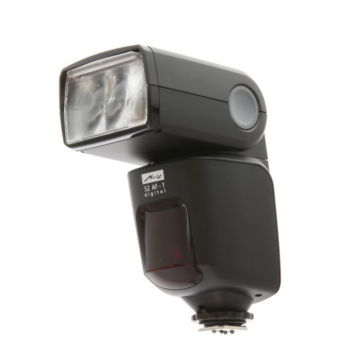 Metz 52 AF-1 I-TTL Flash for Nikon [GN170] {Bounce, Swivel, Zoom}