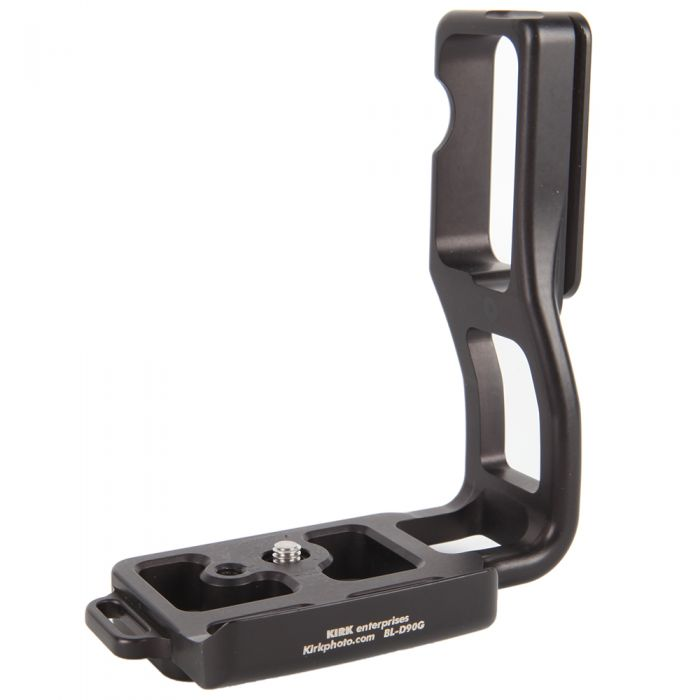 Kirk BL-D90G L-Bracket for Nikon D80, D90 with MB-D80 Battery Grip