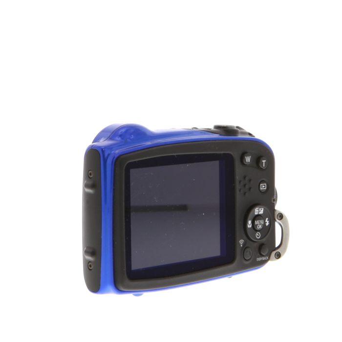 Fujifilm FinePix XP70 Digital Camera, Blue, {16.4MP} Waterproof To 19.7'