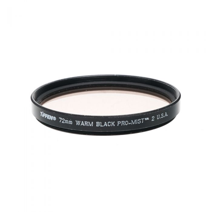 Tiffen 72mm Warm Black Pro-Mist 2 Filter