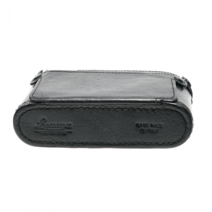 Leicatime Half Case Black With LCD Back Door Style Cover (M9)