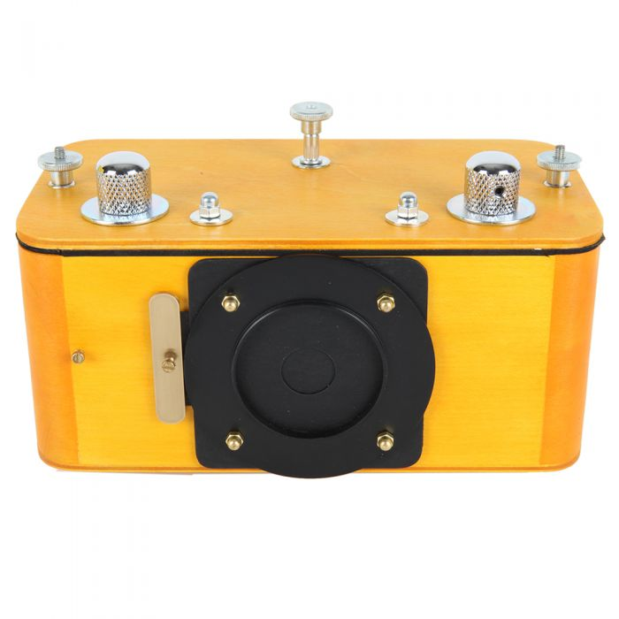Vermeer 6X17 Wooden Pinhole Panoramic Medium Format Camera {52}, Yellow Stain