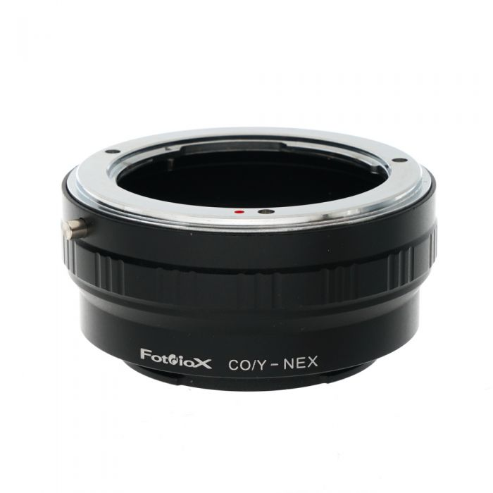 FotodioX CY-NEX Adapter for Contax/Yashica Lens to Sony E-Mount without Tripod Mount