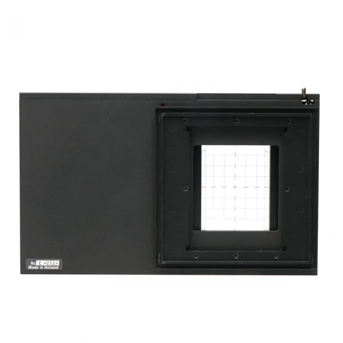 Cambo 4x5 Sliding Back Adapter for Hasselblad V Back to Sinar, with Ground Glass Screen, Without Magnifying Viewer