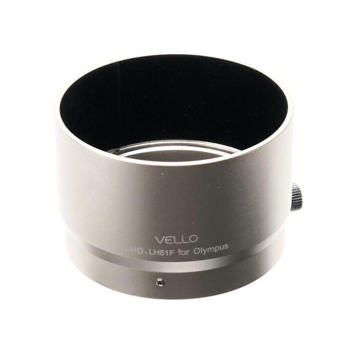 Vello LHO-LH61F Lens Hood, Silver, for 75mm f/1.8 Micro Four Thirds