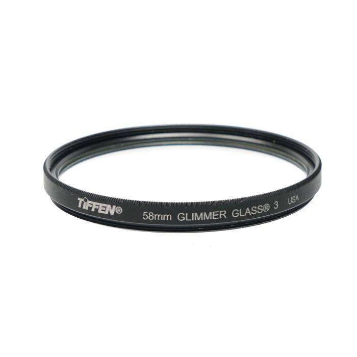 Tiffen 58mm Glimmer Glass 3 Filter