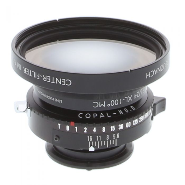 Schneider 24mm f/5.6 APO Digitar XL View Camera Lens (Covers 37X49mm), In Copal BT Shutter With Center Filter IId