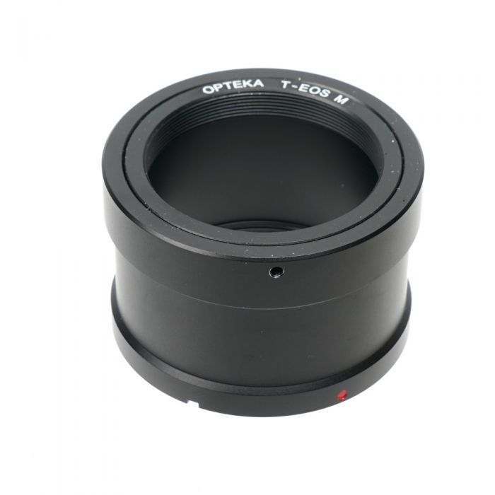 Opteka T-Mount T-EOS M Adapter for T-Mount Lens to Canon EF-M Mount