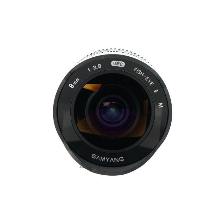 Samyang 8mm F/2.8 UMC Fisheye II Manual Focus Lens For Canon Mirrorless EF-M Mount