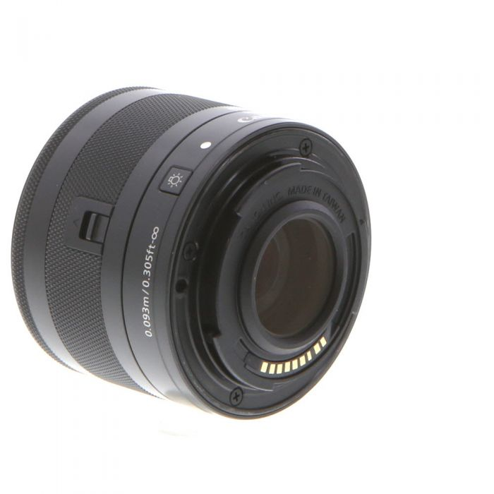 Canon 28mm f/3.5 Macro IS STM EF-M Mount Lens For Canon Mirrorless Digital, Graphite Black {43}
