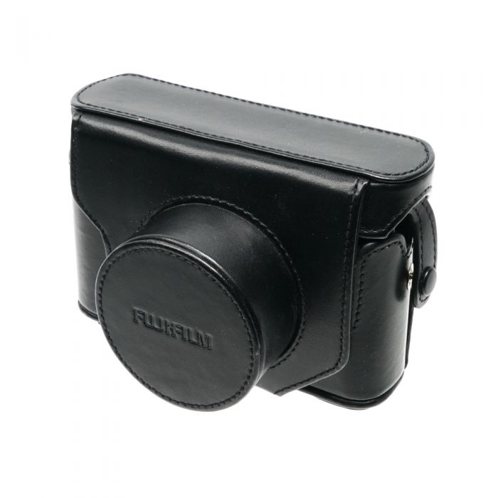 Fujifilm LC-X20 Black Leather Case Without Strap (For X10, X20)