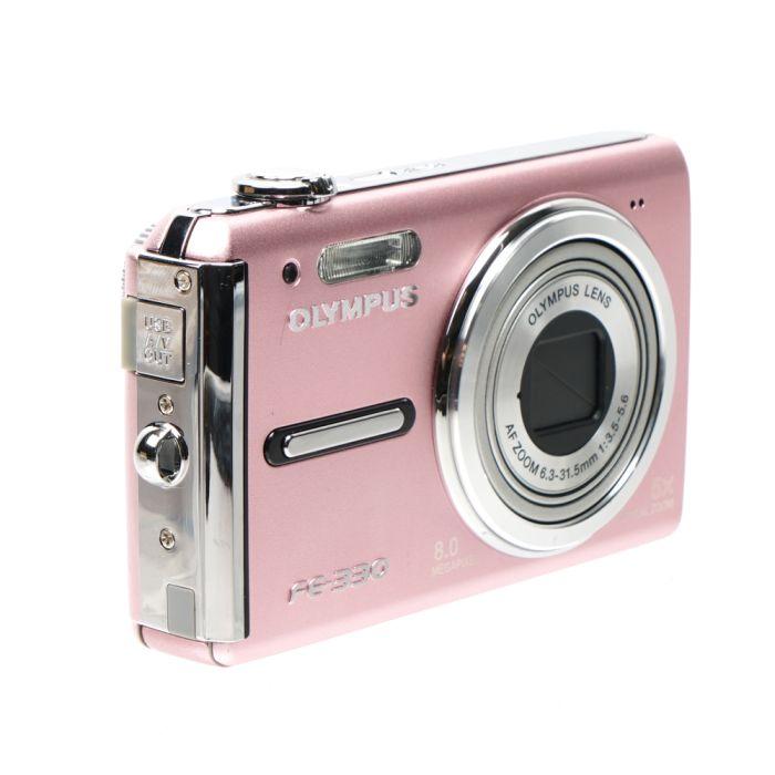 Olympus FE-330 Pink Digital Camera {8 M/P}