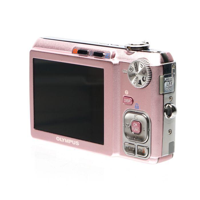 Olympus FE-330 Pink Digital Camera {8MP}