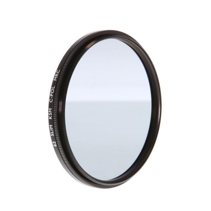 B+W 62mm Circular Polarizing Slim KSM MRC Filter