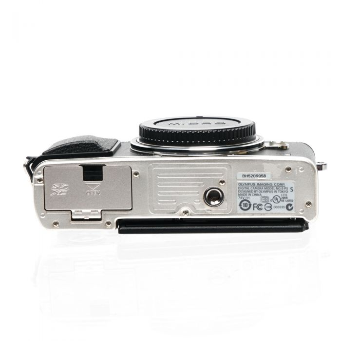 Olympus PEN E-P5 IR (Infrared) Color Converted Mirrorless Micro Four Thirds Digital Camera Body, Silver {16.1 MP}