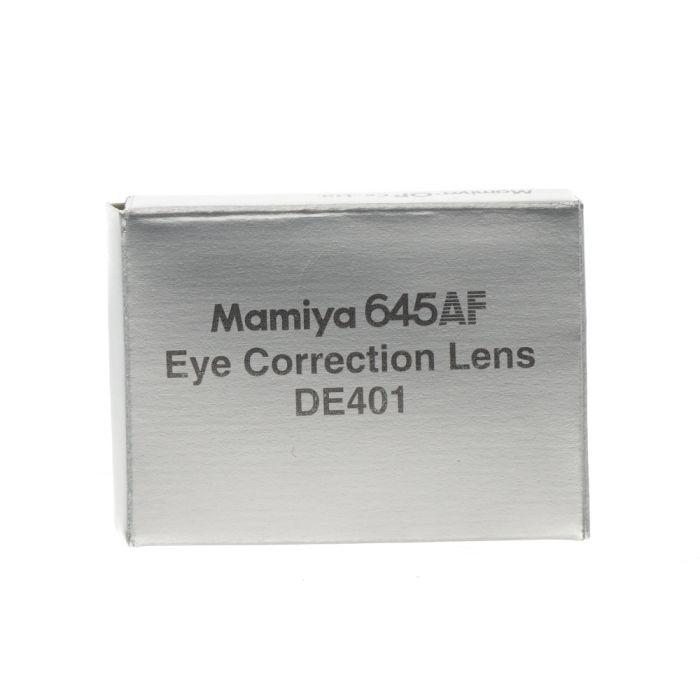 Mamiya 645AF Eyepiece Diopter Lens DE401 (Standard,-2.5 to +0.5 DPT)
