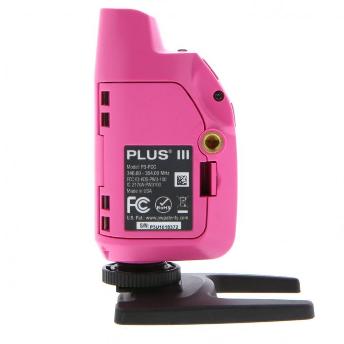 Pocket Wizard Plus III Radio Slave Transceiver Pink