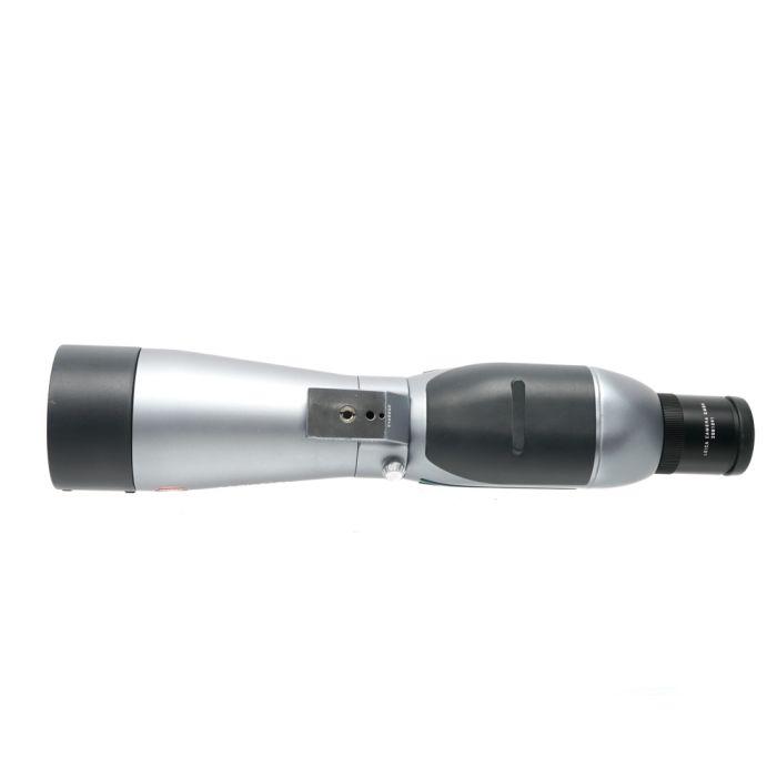 Leica Televid 77 Straight Spotting Scope with B32X Eyepiece, Silver/Black (40103)