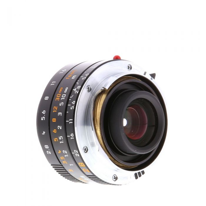 Leica 28mm f/2.8 Elmarit-M Aspherical 6-Bit M-Mount Lens without Protection Ring, Made in Germany, Black {39} (11677)